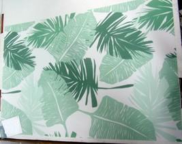 "4 Same Kitchen Textilene SEMI-CLEAR Placemats, Palm Leaves, 13"" X 19"" - $15.83"