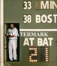 Manny Ramirez Green Monster Boston Red Sox 8X10 Color Baseball Memorabilia Photo - $6.99