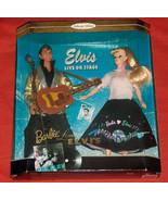 1996 Barbie Loves Elvis Presley Mattel Collector Edition Barbie Doll Gif... - $44.53