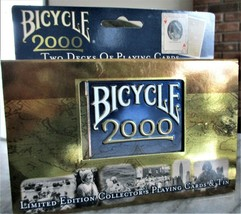 NEW Bicycle 2000 Limited Edition Collectors Playing Cards In Tin  - $14.84