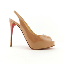 New CHRISTIAN LOUBOUTIN Size 6.5 PRIVATE NUMBER Platform Heels Shoes 36.... - $598.00