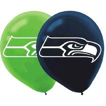 Seattle Seahawks NFL Football Sports Banquet Party Decoration Latex Balloons - $6.88