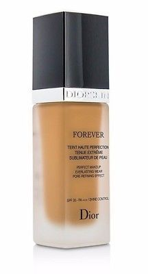 Primary image for DIOR Forever Flawless Perfection Fusion Wear Makeup Foundation 050 SPF25  NWOB