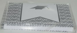 Rosanne Beck 211 0954BLK Folded Note Grad Cap Black Cards and Envelopes Pkg 10 image 2