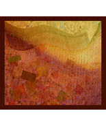"Painting, original digital art on canvas ,""Weigh of time""-René Castillo-Ramos - $570.00"