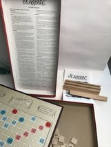 Hasbro Scrabble Crossword Game -Parker Brothers- W/ Pieces, Stands, Boar... - $29.70