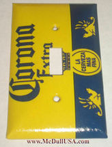 Corona Extra La Cerveza FINA Light Switch Power Outlet wall Cover Plate Decor image 4