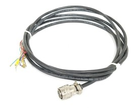 NEW AMPHENOL PT06F-12-10S PLUG CONNECTOR W/ ALPHA WIRE 25110 XTRA GUARD CABLE