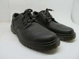 Dr Martens Ashfeld Mens Dark Brown Pebbled Leather Shoes Size US 12 M - $47.53