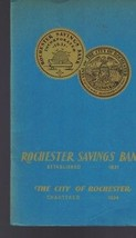 Rochester Savings Bank 1935 booklet (24 pages) New York  - $9.00