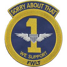 US Army 1st Aviation Company FWLT Vietnam Patch 4.50'' by 5.0'' - $13.85