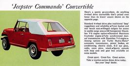 1967 Jeep Jeepster Commando Convertible - Promotional Advertising Poster - $9.99+