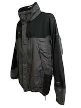 Columbia Titanium Vintage Omni Tech Colorblock Hood Ski Snowboard Jacket... - $59.39