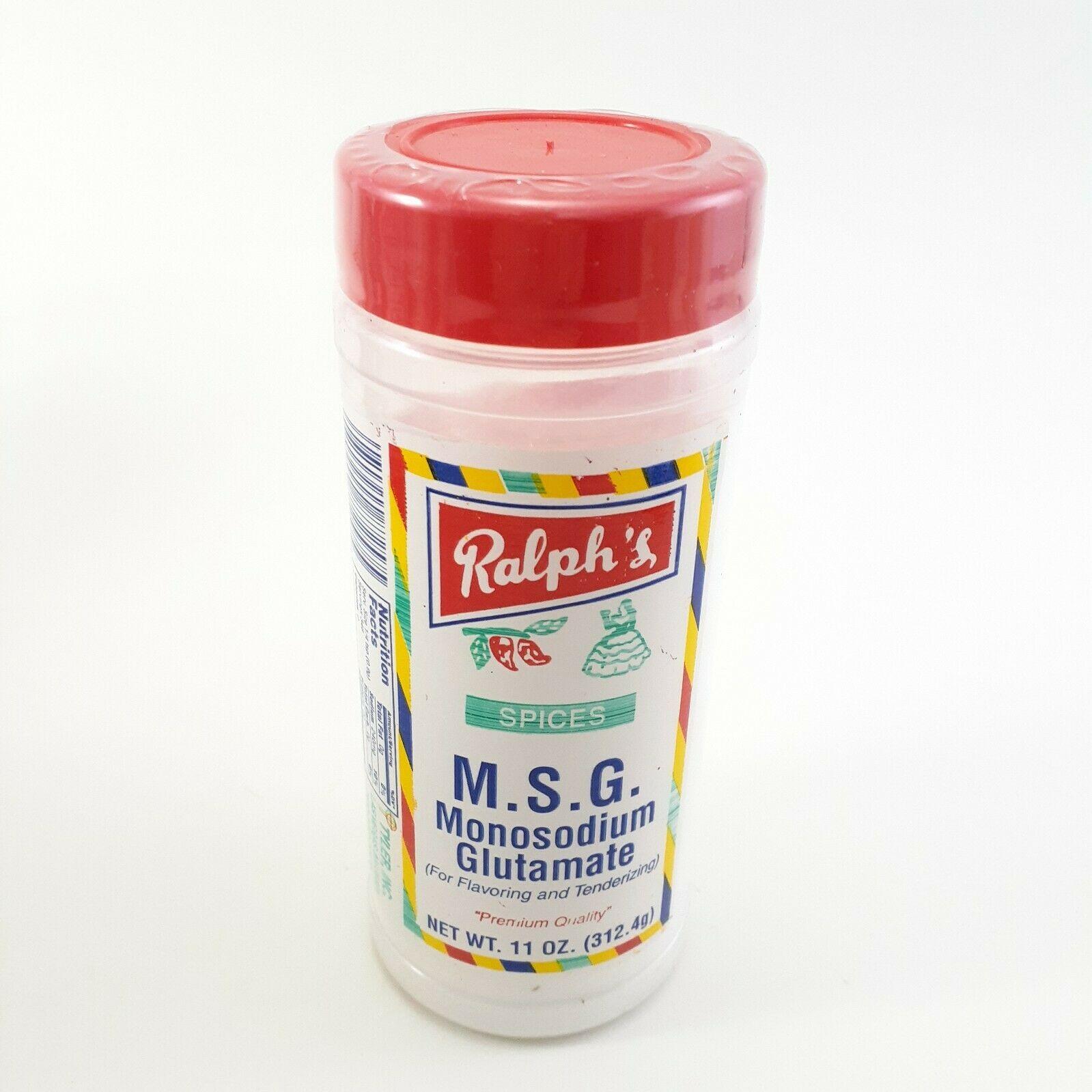 M.S.G.  Ralph's Spices Premium Quality