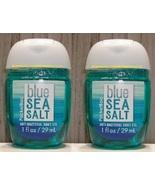 Pocketbac Blue Sea Salt Antibacterial Hand Gel 2 Pack Bath and Body Works - $5.50