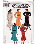 Women Dress Evening Wear Sizes 10-16 Long 3/4 sleeves 4 Styles Simplicit... - $20.00