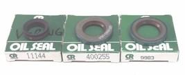 LOT OF 3 NIB CHICAGO RAWHIDE OIL SEALS 9983 , 11144 , 400255 image 2