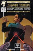 Star Trek: Deep Space Nine Comic Book The Maquis #1 Art Cover 1995 NEAR MINT - $2.99