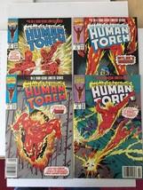 The Saga Of The Original HUMAN TORCH 1-4 Original Marvel Comic Books SET... - $6.36