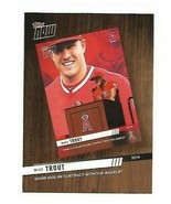 2020  Topps Now card #TNR-1  - Mike Trout - LA Angels - NM/MINT - $1.25