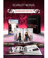 Scarlet Nexus Guardians Edition PS5 Playstation 5 + Art Book + Steelbook... - $349.90