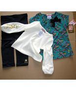 Juicy Couture Baby Leggings 3 Piece Set Sparkle Garden 12-18 months - $64.34