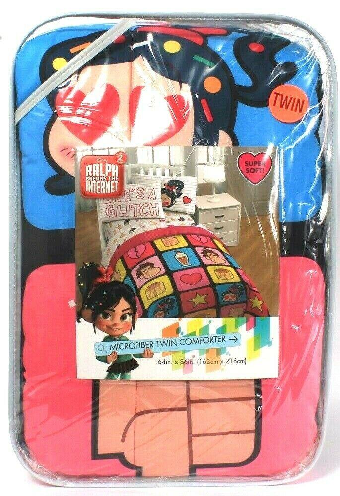 Jay Franco & Sons Disney Wreck It Ralph Breaks The Internet 2 Twin Comforter - $59.99