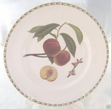 ROSINA QUEENS HOOKERS FRUIT DINNER PLATE PEACH - $21.03