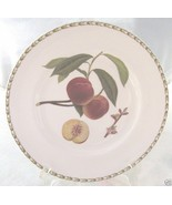 ROSINA QUEENS HOOKERS FRUIT DINNER PLATE PEACH - $21.03