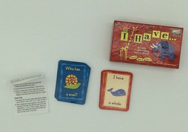University Games I Have Card Game Ages 5+ Kids Animal Learning Game - $10.00