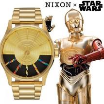 THE SENTRY Gold C3PO NIXON x Star Wars Wrist Watch A356SW-2378 Unisex F/S - $543.89