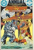 (CB-8) 1983 DC Comic Book: The Fury of Firestorm Annual #1 - $4.00