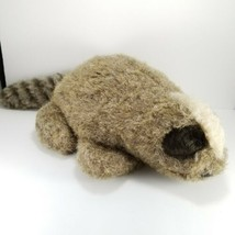 Folkmanis Furry Folk Puppets Raccoon Hand puppet Plush Teachers Aide Pre... - $14.25