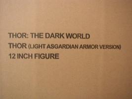 Hot Toys Thor:The Dark World (Light Armor Version) Limited Figure Toy Ne... - $756.00