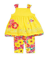 First Impressions Floral Top & Leggings Baby Girls' 2-Piece Set - $22.66