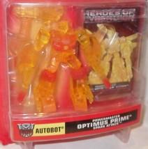 ✰Powermaster OPTIMUS PRIME Spark Attack PVC Transformers Heroes Cybertro... - $8.99