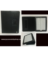 """Tablet Reader iPad Protection Case Black 9"""" x 6"""" Screen Faux Leather - $9.99"""
