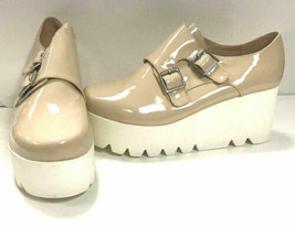 Qupid Femmes Chaussures Mob 05, Chair Pat PU, US 8 - $35.62