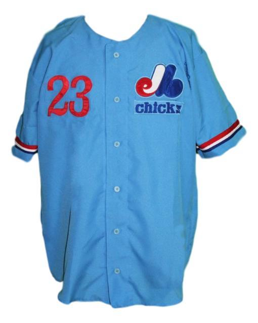 Custom name   memphis chicks retro baseball jersey rick williams blue   1