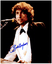 BOB DYLAN  Authentic Original SIGNED AUTOGRAPHED PHOTO w/ COA 1233 - $175.00