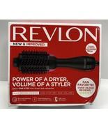 Revlon Hot Air One Step Hair Dryer Brush Volumizer -NEW-SEALED-Distressed Box - $36.53