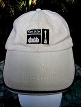 Ballcap Unisex Adult Adjustable SEATTLE souvenir embroidered patch Space... - $5.87