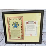 BRONAUGH family name history CREST COAT OF ARMS HISTORICAL RESEARCH CENT... - $44.00