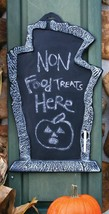 Tombstone Chalk Board Prop 22 Inches Haunted House Halloween FW91198BS - $49.39