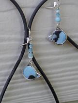 RD-ER-0226 - Blue Cats Earrings - $12.00