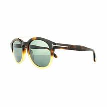 Tom Ford Sonnenbrille FT0515S 56N 53 Newman 56N Hellbraun Fade Grün - $190.60