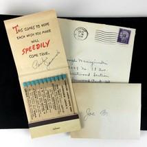 1954 Hallmark Matches Match Book Card Birthday Printed Stems Unused Chic... - $29.69
