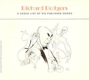 1984 Richard Rodgers Published Songs Music Checklist Theater Opera New York Publ