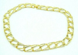 Pcraft Chain Link Gold Tone Necklace Vintage 1960s - $24.74