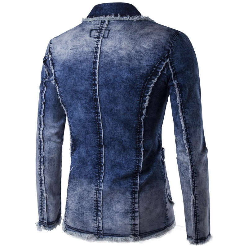 Men's clothing, 2018 spring and summer new style, Europe and America jeans washe